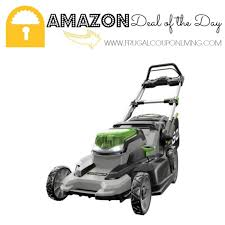 amazon black friday mower sales amazon deal of the day 28 off ego power cordless lawn mower