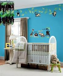 decorating ideas for jungle and safari nursery decor interior