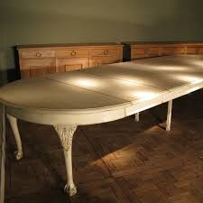 large extending dining table very large extendable painted dining table furniture