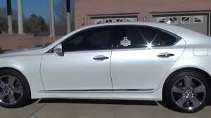 lexus ls 460 tires hd 2012 lexus ls 460 pearl white sport for sale see