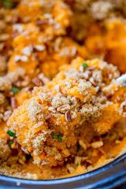 cooker sweet potato casserole dinner then dessert