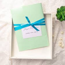 affordable pocket wedding invitations affordable simple mint green pocket wedding invitations ewpi125 as