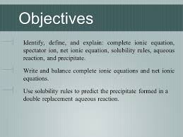predicting products and the activity series initial questions do
