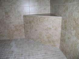 tile ready corner shower bench install