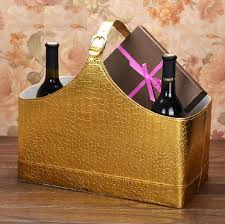 Christmas Gift Baskets Free Shipping Fashion Leather Storage Basket Christmas Gift Basket Packaging