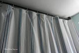 How Long Are Shower Curtains Extra Long Shower Curtains Home