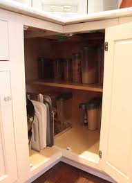 Kitchen Corner Cabinets Much Better Than A Lazy Susan In A Corner Cabinet For The Home