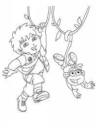 diego coloring pages pertaining to really encourage in coloring