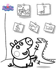 kids n fun co uk 20 coloring pages of peppa pig