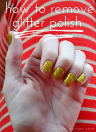 polish up the trick to removing glitter polish michelle phan