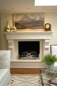 new york craftsman fireplace mantel living room contemporary with
