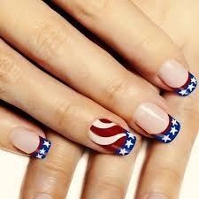 30 american flag inspired stripes and stars nail ideas