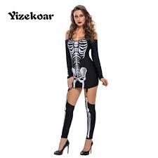 Skeleton Halloween Costume Women by Online Get Cheap Punk Women Costume Aliexpress Com Alibaba Group