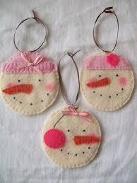 25 adorable felt original ornaments for your tree felt