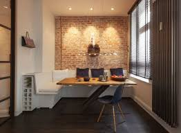 exposed brick wall lighting cozy renovated apartment with rustic brick walls idesignarch