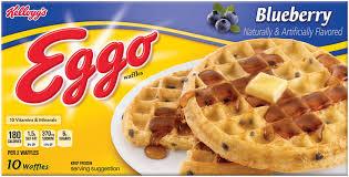 Eggo Toaster Waffles Bruces