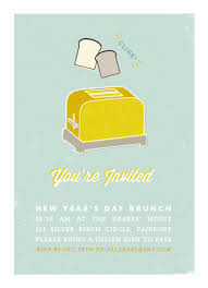 brunch invites party invitations let s toast brunch invitation at