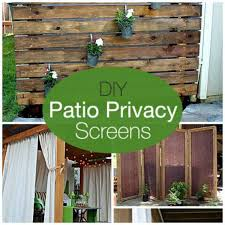 make your own privacy screens for your patio u2013 home and garden