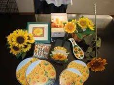 sunflower kitchen decorating ideas sunflowers themed paper towel roll holder country kitchen home