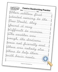 great worksheets for cursive practice and mastery i love that i