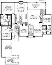 4 bedroom single house plans 4 floor house plans single floor house plans four house plans