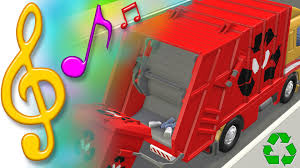 garbage truck recycling song with lyrics tutitu toys songs for