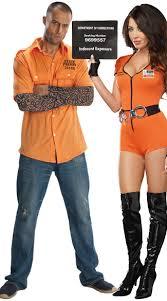 Halloween Inmate Costume Inmate Couples Costume Prisoner Couples Costume Couples
