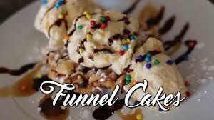 funnel cake recipe easy diy funnel cake recipe youtube