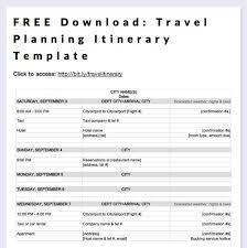 Travel Spreadsheet Excel Templates Best 25 Travel Itinerary Template Ideas On Travel