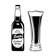Common Garrafa E Vidro De Cerveja Elementos Do Vetor Do Vintage Da Bebida  @OS14
