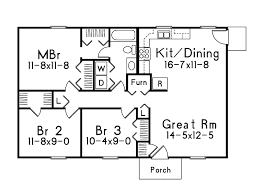 ranch home layouts grass roots i ranch home plan 001d 0041 house plans and more
