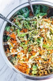 napa salad crunchy napa cabbage asian slaw kitschen cat