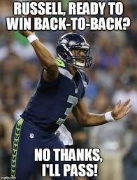 Seahawks Win Meme - image tagged in russell wilson seattle seahawks imgflip
