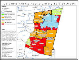 New York City Area Map by Columbia County Find Your Public Library In New York State