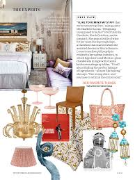 house beautiful february 2017 leontine linens for the