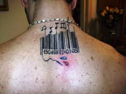 unique barcode tattoo creativefan