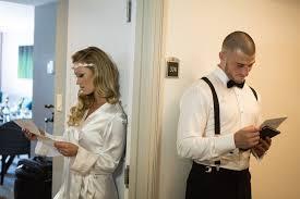 bride u0026 groom receive unexpected heartfelt love letters before