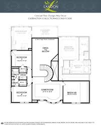 heritage homes floor plans carrington concept plan new homes monthly