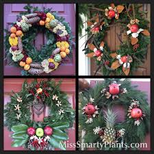 colonial williamsburg wreaths miss smarty plants