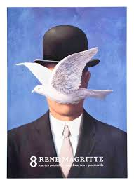 la chambre d oute magritte rene magritte set of 8 assorted set a postcards