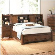 Bed Frames With Storage Drawers And Headboard King Storage Bed Frame Jkimisyellow Me