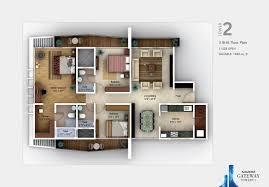 2 Bedroom House Plans Vastu 2 Bhk Flat Plan Per Vastu