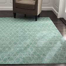 Teal And Green Rug Tochi Blue Green Rug Crate And Barrel