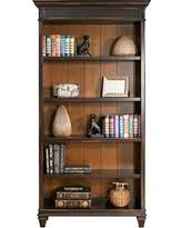 fall sale martin furniture contemporary 7 shelf bookcase fully