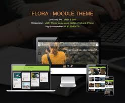 moodle theme api flora responsive moodle theme by cmsbrand themeforest
