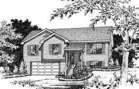 multi level house plans cozy split level house plan 2298sl architectural designs