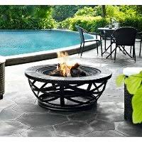 Slate Firepit Square Slate Firepit Firestone Rc Willey Furniture Store