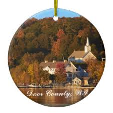 door county ornaments keepsake ornaments zazzle