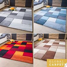 Large Modern Rug New Modern Rug Botiga Square Design Colourful Soft Quality Mats