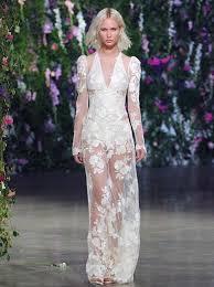 sexxy wedding dresses wedding dresses that rocked the runways